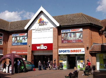 Maylord Shopping Centre in Hereford